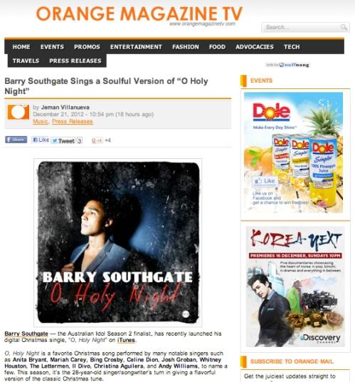 Orange Magazine TV