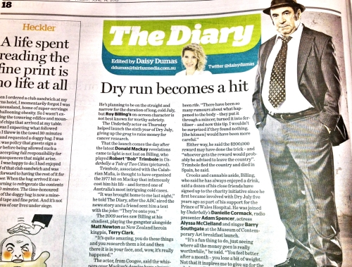 The Diary - Dry July