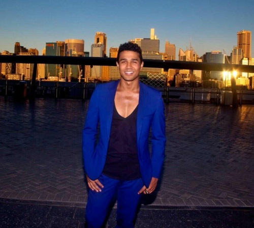 City chillin' at The Star after my performance.