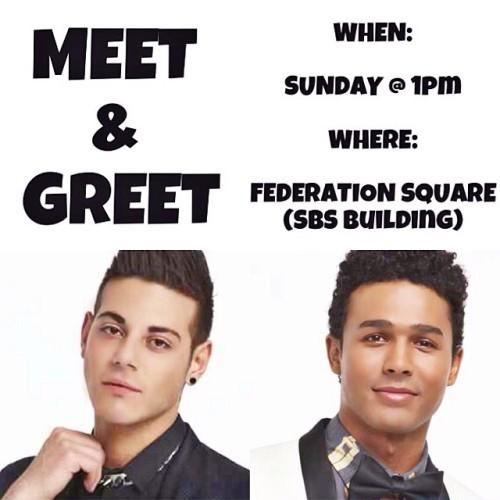 Melbourne Meet & Greet