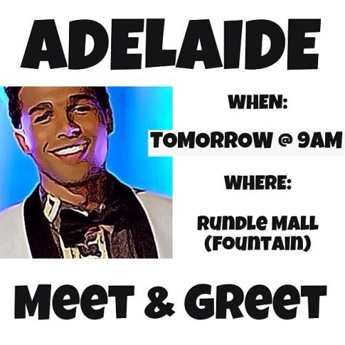 Adelaide Meet & Greet
