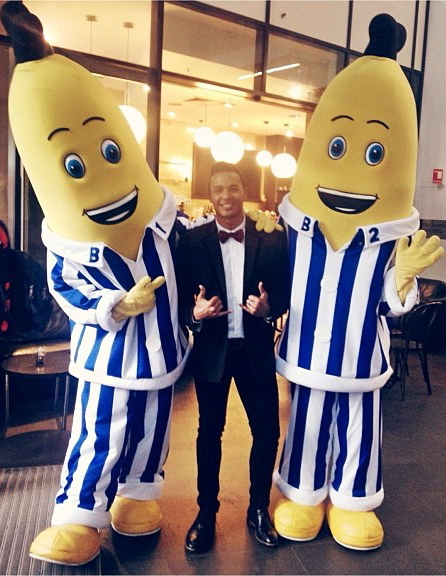 Banana hanging with B1 & B2.  Think I can be B3 :p?