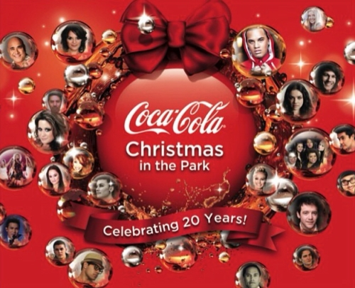 Coca-Cola Christmas in the Park 1
