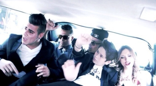 Screenshot from limo footage, shot by Danielle Payne.  Vid coming soon.