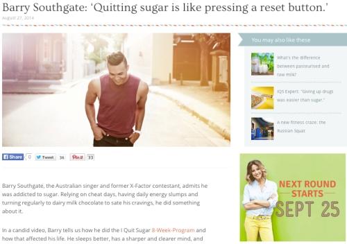 Barry Southgate I Quit Sugar