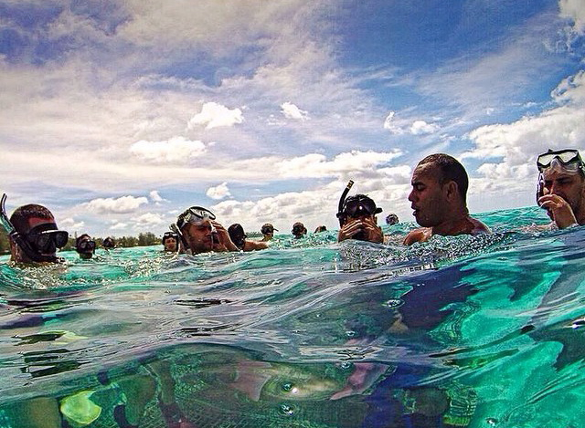 Snorkeling is my new favorite thing. Physically relaxing, visually stunning...