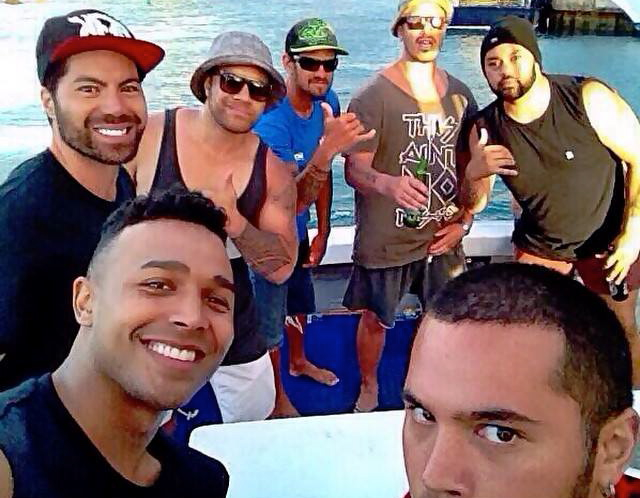 Deep-sea fishing trip with Akura Fishing Charters.  Such a good hang with the bros out on the ocean...