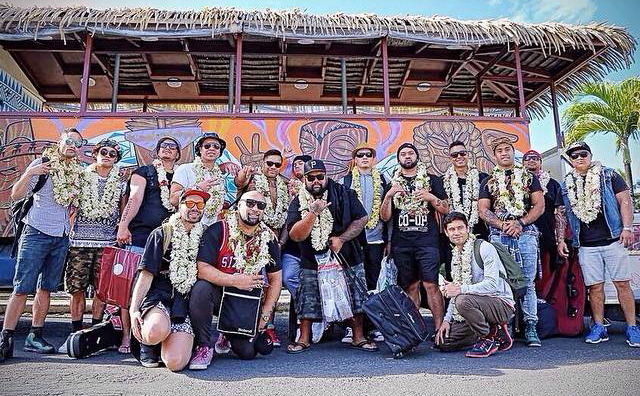 Our Rarotonga arrival had us greeted by some beautiful local people & cruising across the island aboard this party bus. You just knew the week ahead was about to be unforgettable.