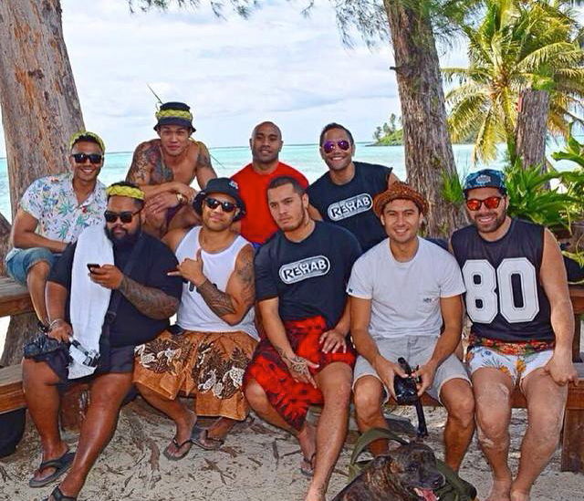 Raro chill with some of the boys.