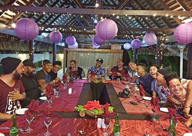 """Everything about the food, set-up & ambience epitomised """"on point"""", but beyond that us boys had the best time celebrating with our brother."""